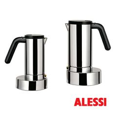 "it, espresso coffee maker"" by ALESSI Domestic Appliances, Home Appliances, Pod Coffee Makers, French Press Coffee Maker, Cafetiere, How To Make Coffee, Alessi, Chocolate Coffee, Espresso Coffee"