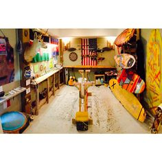 A Look Inside the Country's Raddest Gear Sheds