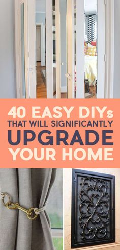 40 Easy DIYs That Will Instantly Upgrade Your Home – Michelle Walker 40 Easy DIYs That Will Instantly Upgrade Your Home Hello everyone, Today, we have shown Michelle Walker Lots of Good Ones Here! – 40 Easy DIYs That Will Instantly Upgrade Your Home Diy Décoration, Easy Diy, Simple Diy, Home Improvement Projects, Home Projects, Home Renovation, Home Remodeling, Remodeling Contractors, Easy Home Decor