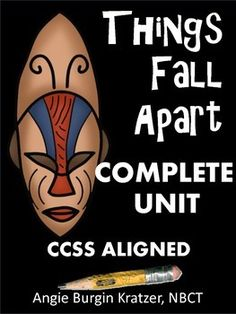 This instructional unit includes everything a teacher would need for Chinua Achebes novel Things Fall Apart, including three differentiated types of reading assessments. For weaker readers or students who need a high level of accountability, there is a half-page quiz for each of the 25 chapters.