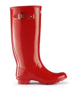 Huntress boots in red! Red Rain Boots, Wide Calf Boots, Hunter Rain Boots, My Collection, Shoe Boots, Shoes, Personal Style, My Style, Zapatos
