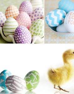 Eggs for Easter: Draw 'em, paint 'em, dye 'em! by That's Happy