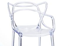 Baxton StudioElectron Clear Plastic Contemporary Dining Chair | Affordable Modern Furniture in Chicago