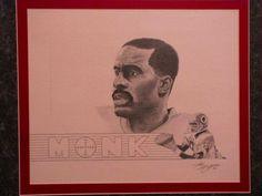 Art Monk drawing