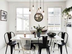 A Swedish city pad in monochrome and copper (via Bloglovin.com )