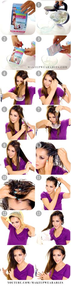 HOW TO grow your hair faster longer thicker - hair tutorial