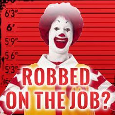 Breaking: Watch two former McDonald's managers break down how they were ordered to cheat their employees out of their pay They aren't the only two... a new poll released this week found that 89% of fast food workers say their bosses are stealing from them, by not paying them for all of the work that they do. McDonald's can't get away with this — share the video
