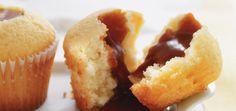Cupcakes au caramel à la fleur de sel Recettes   Ricardo- divin !!!!
