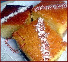 Basboussa Noix de coco (basbosa)