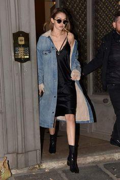slip dress looks divers stylistiques tendances mode femme branchée #fashion