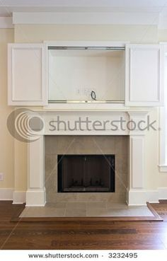 disquising a  Fireplace | THE BIG BLACK HOLE
