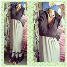 Customizado de un vestido corto! Transformación y reciclado! !!!