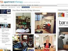 Apartment Therapy blog