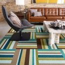 FLOR carpet squares you can use to build your own design.