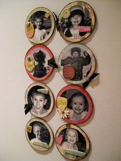 The Gilbert Family: How-To Tuesday: Make Personalized Photo Magnets