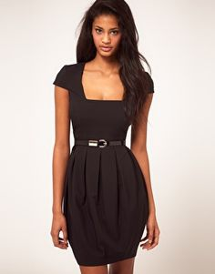 Enlarge ASOS Dress With Bell Skirt