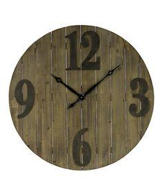 Loving this Mahdis Clock on #zulily! #zulilyfinds