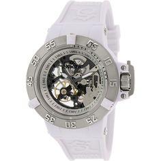 Invicta Women's Subaqua 17143 White Rubber Automatic Watch