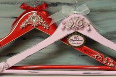 Wedding hangers, Bride and Groom Hangers, Personalized Hangers, Bridal Rococo hangers, Customized Bridesmaid Hangers, Royal Wedding Hangers