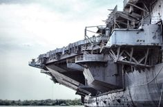 """U.S.S. Forrestal - http://www.industrytap.com/the-us-navys-first-supercarrier-sells-for-one-cent/15633 -   """"The U.S. Navy's first supercarrier, the now-decommissioned USS Forrestal (AVT-59), has been sold for one cent to Texas-based All Star Metals. What does the company plan to do with its new purchase? Take the supercarrier apart and scrap it."""""""