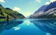 WALLPAPERS HD: Marmoleda Mountain Reflections