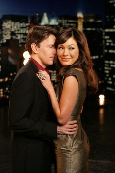 Andrew McCarthy and Lindsay Price in Lipstick Jungle