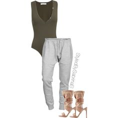 A fashion look from March 2015 featuring Dsquared2 activewear pants and Paul Andrew boots. Browse and shop related looks.
