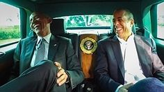 Behind the wheel of the Obama episode of Seinfeld's 'Comedians in Cars'
