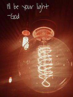 God is light!!