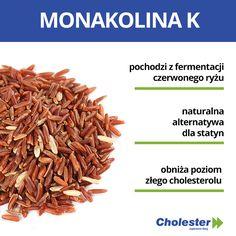 Monakolina K - naturalny sposób na cholesterol  #cholesterol #monakolina #zdrowie