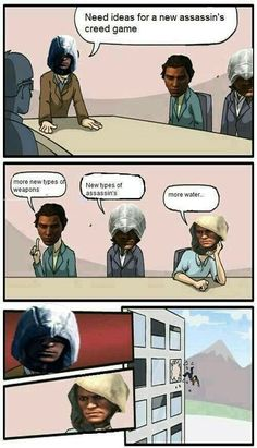 Assassin's creed Assassins Creed Quotes, Assassins Creed Odyssey, All Assassin's Creed, Funny Gaming Memes, Funny Games, Assassin's Creed Black, Funny Pictures, Wattpad, Dimples
