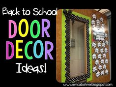 Classroom Door Decor Ideas