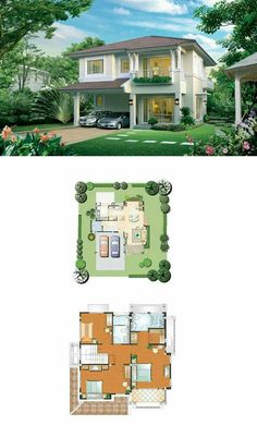 Home - layout. House Layout Plans, Modern House Plans, House Layouts, House Floor Plans, Small House Plans, Small House Design, Dream Home Design, Modern House Design, Architectural Design House Plans