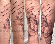 White Rabbit by Rob Talo by Rob Talo : Tattoos