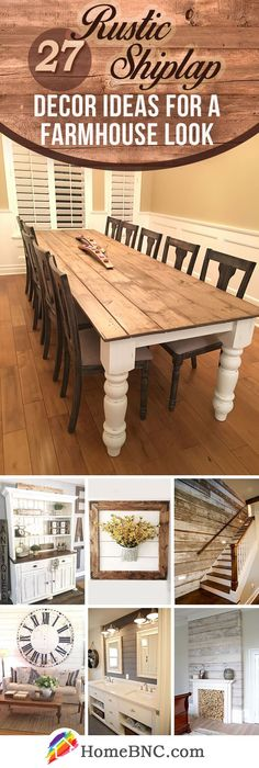 Rustic Shiplap Design Ideas