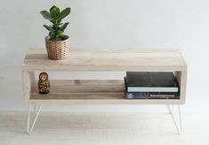 Sophie Reclaimed Wood TV Stand | TV Cabinet | Hairpin Legs | Scandinavian Style | Living Room | Side Table