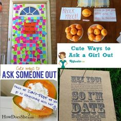 romantic ways to ask a guy out