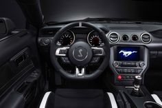 2016 Ford Mustang Shelby GT350 (interior)