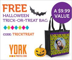 FREE Halloween Trick-Or-Treat Bag!!