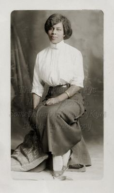 Vintage Photograph African American