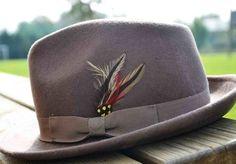 une affaire 2 tailles Paille trilby chapeau CRUSHABLE avec stripey band