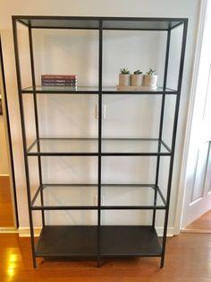 Beautiful IKEA Glass Shelf Unit Etobicoke 70