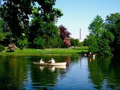 Boating at the Bois de Boulogne