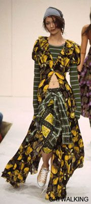 "Marc Jacobs' Spring 1993 ""Grunge"" collection for Perry Ellis – game-changing moment in modern fashion."