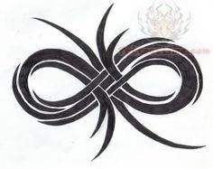 tribal infinity tattoo - Google Search