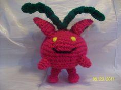 Hoppip - (Pokemon) - Free Amigurumi Crochet Pattern here: http://katscreations.blogspot.com.es/2011/09/hoppip.html