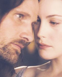 Aragorn and Arwen, lovely on the eyes...
