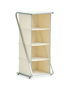 Free-Standing 4-Cubby Closet Organizer - Real Simple Solutions