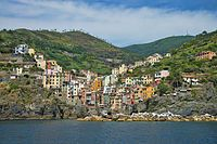 Cinque Terre - Italy. To the right of this picture is one of my favorite pebble beaches.