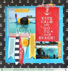 Scrap Your Stash video tutorial : 3 Ways to Use A Collection Kit by @Nancy Damiano
